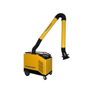 Mobile welding fume extractor MobilePRO incl.4m KUA arm, Plymovent