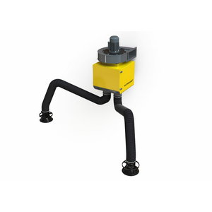 DualGo stationary weld.fume extractor incl 2+2m EconomyArm, Plymovent