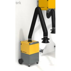Mobile weld.fume extractor MobileGO incl.3m EconomyArm, Plymovent