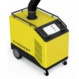 Mobile weld.fume extractor MobilePRO-W3 incl.3m EA arm, Plymovent
