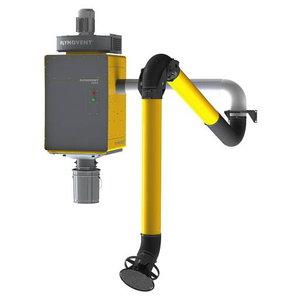 Filtra sitēma WallPro Single EM ar cauruli, vent.un fil.400V, Plymovent