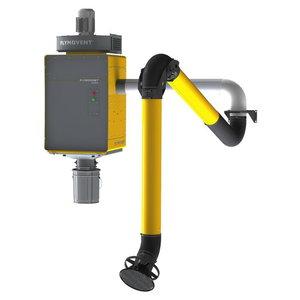 Filtra sitēma WallPro Single EM ar cauruli, vent. un fil., Plymovent
