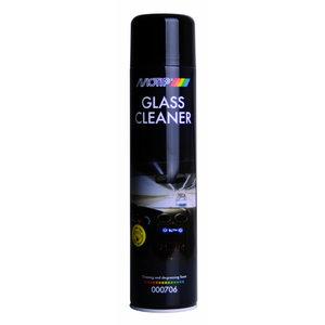 Stiklų valiklis GLASS CLEANER (putos) BL 600ml, Motip
