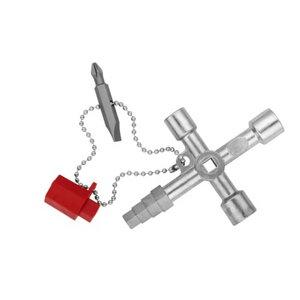 Võti kilbiuksele nelikant 5,7,8mm, Knipex