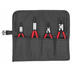 Circlip pliers 4 pcs. J1,J2,A1,A2 set, Knipex