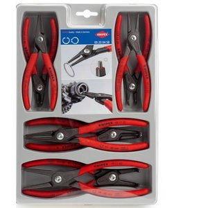 Precision circlip pliers set 8 pcs, Knipex