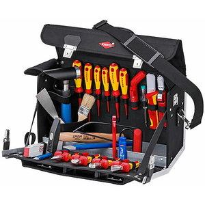 elektriku tööriistakohver +kmpl 23-osa