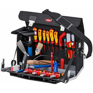 Electricians set in tool bag 23 parts set, Knipex