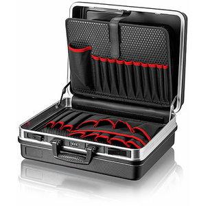 Instrumentu kaste BASIC, tukša, alumīnija rāmis, Knipex
