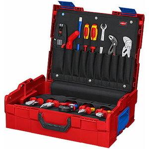 Tööriistakast L-BOXX elektritööde kmpl 65 osa, Knipex