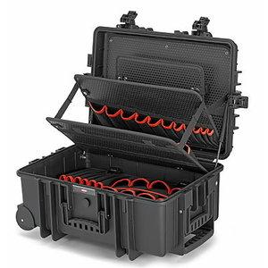"""Įrankių lagaminas """"Robust"""" tuščias, 609X263X428mm, Knipex"""