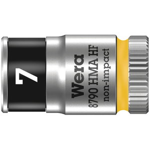"Padrun 1/4"" 8790 HMA HF Zyklop 7mm, Wera"