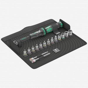 Torque wrench set for bicycle 2,5-25Nm, Wera