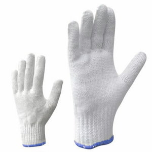 Gloves, knitted gloves, polyester, cotton 9