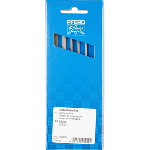 напильник прецизионный в комплекте 160мм C1 6 частей 263, PFERD