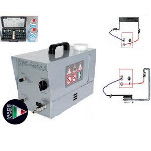 AC sistemos praplovimo įrenginys su chemija, Spin