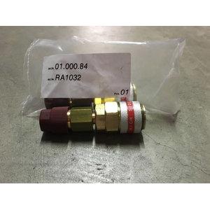 High-pessure rapid coupling 1pcs, SPIN
