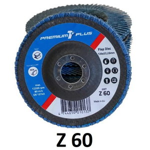 Vėduoklinis diskas 125mm Z60 PREMIUM1+, Premium 1