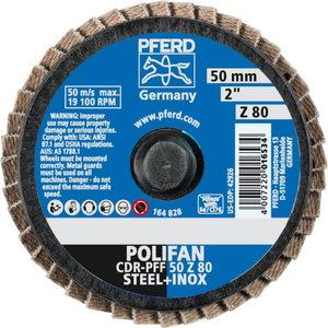 Lamellketas 50mm Z80 CDR-PFF CD-MINI-POLIFAN, Pferd