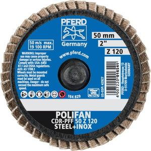 Lamellketas 50mm Z120 CDR-PFF CD-MINI-POLIFAN, Pferd