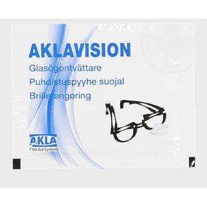 Aklvavision prillipuhastuslapid 40tk/karp