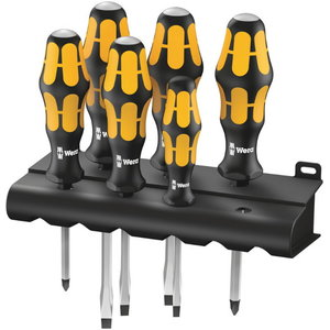 Chisel screwdriver set 932/6, Wera