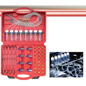 Back Flow system measurement system, with adaptors, Spin