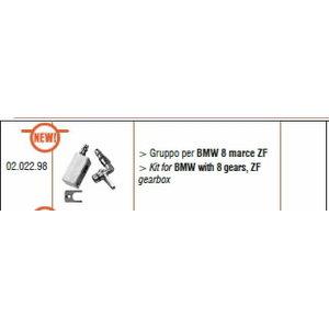 Adapterių komplektas skirtas  BMW zf8 8speed, ATF, Spin