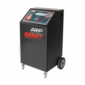 Automatic transmission service station ATF START PRN