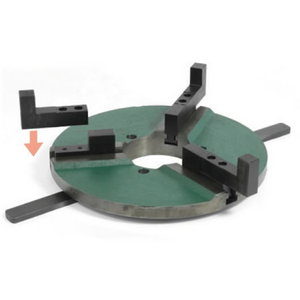 Quick action chuck 300 JW for turntable, Javac
