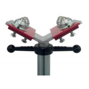 Stainless steel ball transfer heads (set of 2pcs),load 450kg, Javac