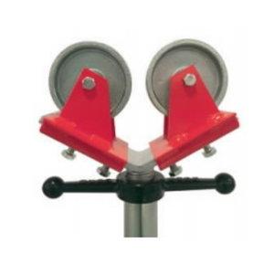 Nylon wheel heads (set of 2pcs), load 450kg, Javac