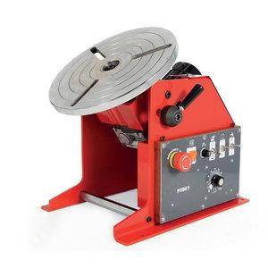 Welding positioner PRO 08, max load 80kg (ex71801119), Javac