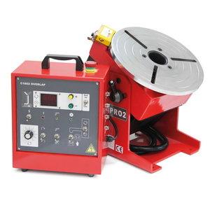 Welding positioner PRO2, max. load 160kg (02.03.01.10110), Javac