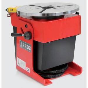 Welding positioner PRO 2, max. load 160kg, Javac