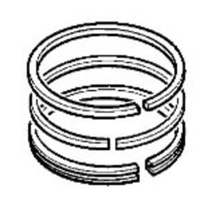 Kit piston ring, JCB
