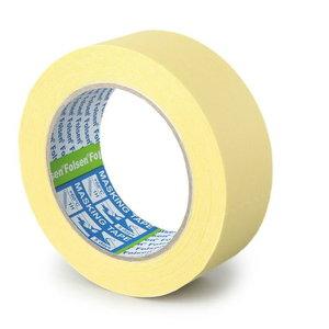 Dzeltena maskējošā lente 60°C 25mmx50m, Folsen