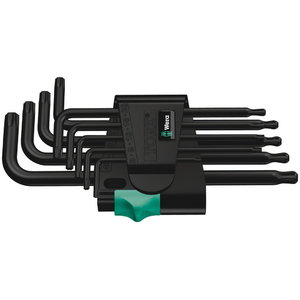 L-raktų kompletas 967 PKL/9 TORX®, Wera