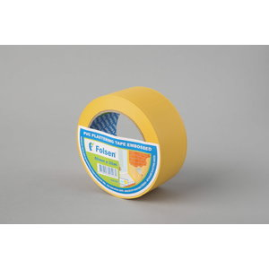 PVC plastering tape,yellow 50mmx33m, Folsen