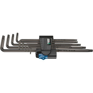 L-key set with holding function, Wera
