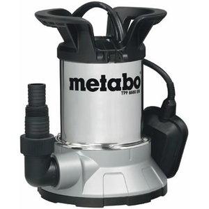Дренажный насос для чистой воды TPF 6600 SN, METABO