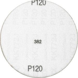 Šķiedrdisks ar līplenti d-125mm P120 Velcro Compact Grane