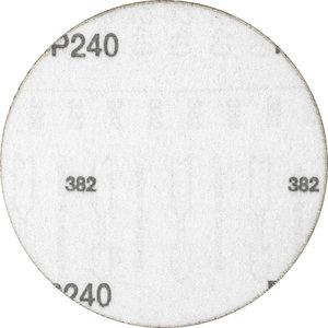 Šķiedrdisks ar līplenti d-125mm P240 Velcro Compact Grane, Pferd
