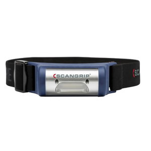 Galvas lukturis LED I-VIEW USB, uzlādējams, Scangrip