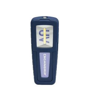 UV Work light UV-FORM 1,5W COB LED 150 lumen 340lux @ 50cm, Scangrip