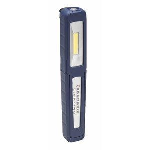 Käsivalgusti LED UNIPEN USB laetav IP65 75/150lm
