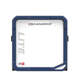 Akumulatora darba lampa VEGA LITE,IP54,BT,400lm,karkass CAS, Scangrip
