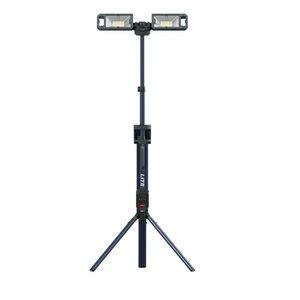 Akumulatora darba lampa TOWER LITE, 5000 lm, korpuss CAS, Scangrip