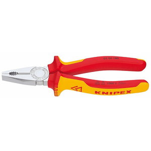 пассатижи 160мм VDE рукоятка Comfort, KNIPEX