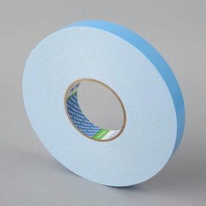 Divpusējā līmlente balts 25mmx25mx1,1mm, Folsen